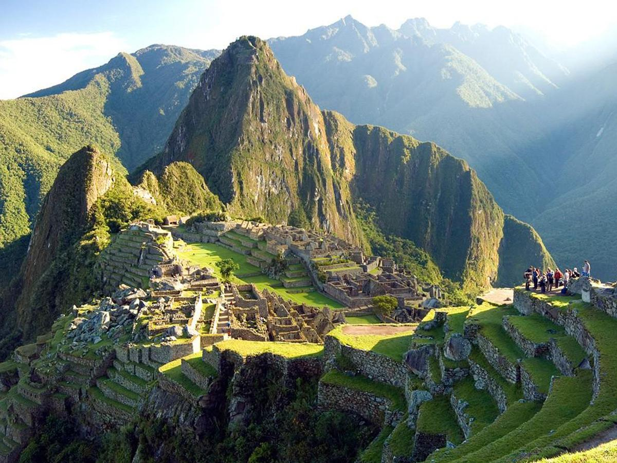 Amazon Rainforest and Machu Picchu